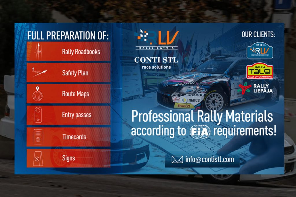 poster for for various rally document services